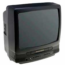 19-Inch TV VCR