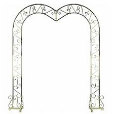 Brass Arch With Heart Shape