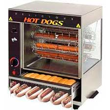 Hot Dog Rotesserie